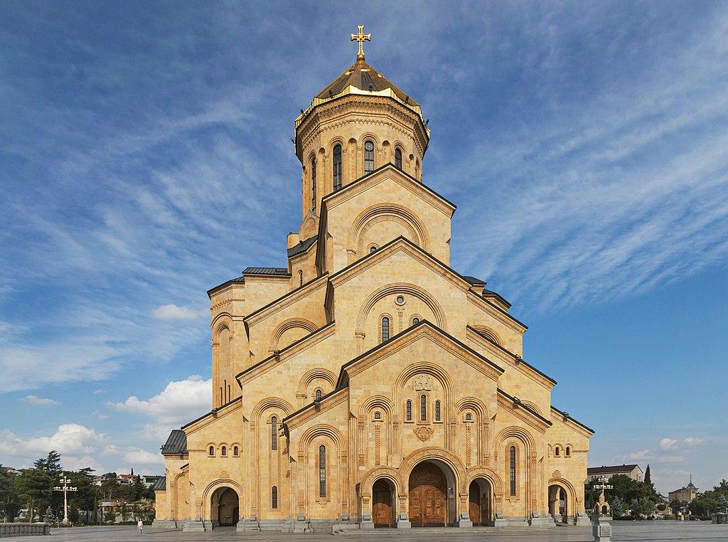 Tbilisi Sobor Trojcy Swietej